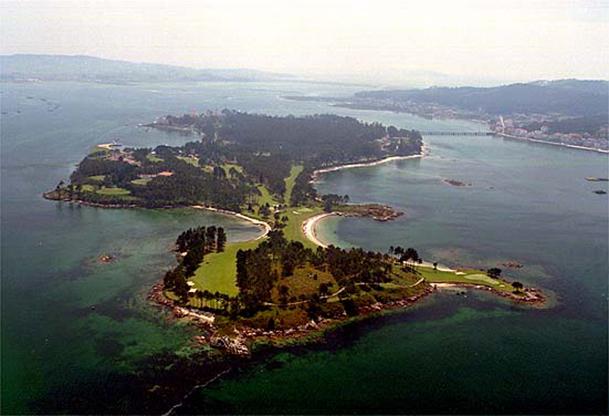Isla de A Toxa (O Grove, Pontevedra).