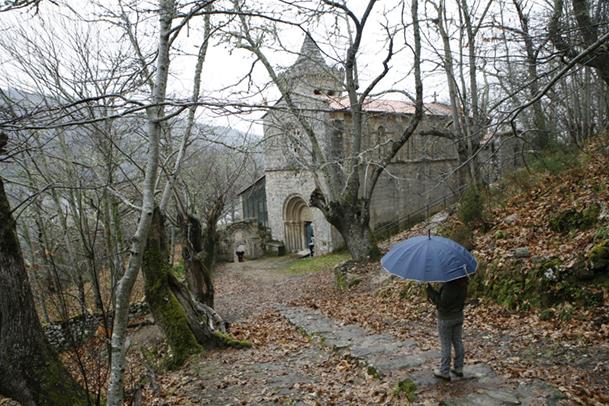Monasterio de Santa Cristina de Ribas do Sil (Ourense).