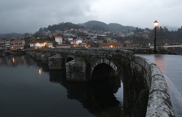 Ponte Sampaio, desde Arcade.