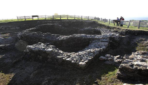 Excavación arqueológica de A Lanzada.
