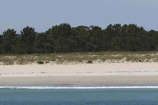Playa de Langosteira, en Fisterra.