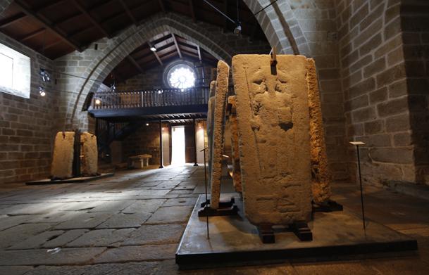 Lápida del Peregrino, la más famosa.