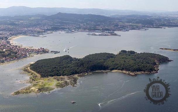 Isla de Cortegada.