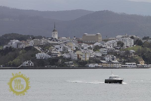 Vista de Ribadeo.