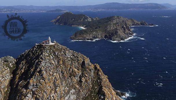 Acantilados de las islas Cíes.
