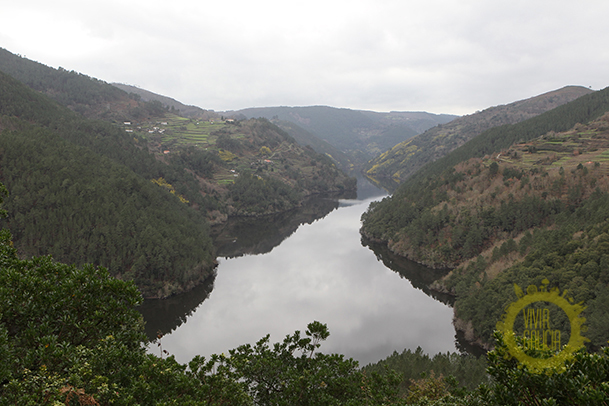 Río Miño, cerca de Monforte de Lemos.