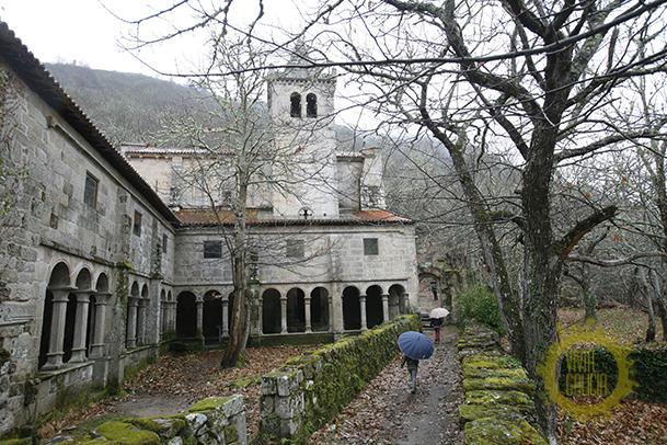 Monasterio de Santa Cristina de Ribas de Sil.