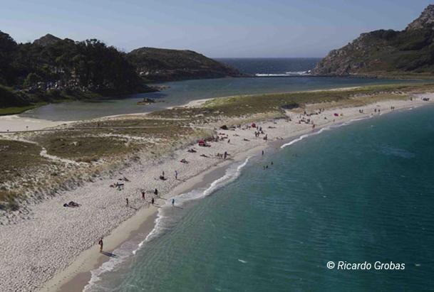 Playa de Rodas, la mejor del mundo según el diario The Guardian.