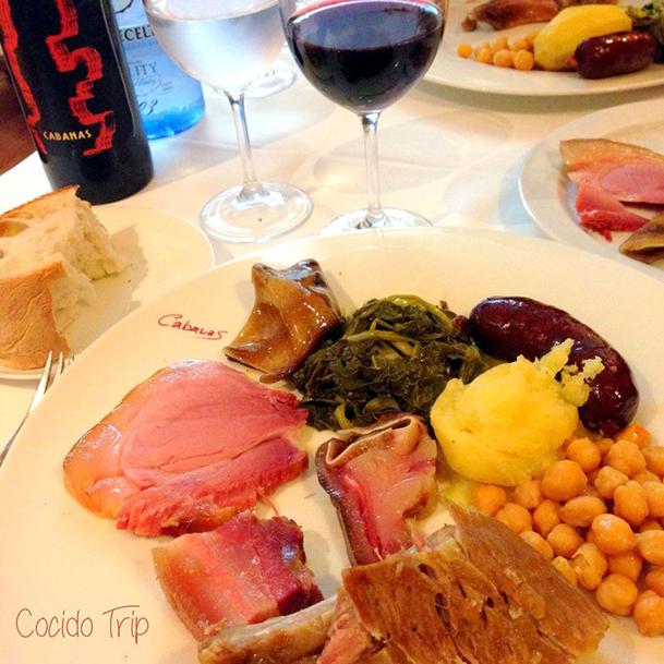 Famoso cocido de Lalín. Foto cortesía de la web cocidotrip.com