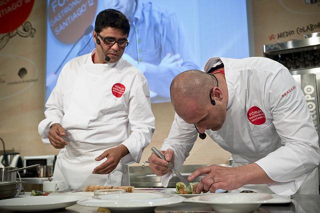Imagen correspondiente al Fórum Gastronómico Santiago'12. Cortesía de Fòrum Gastronòmic.