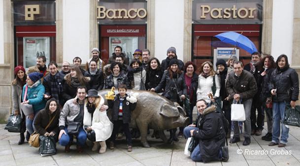 Grupo de participantes en el #Cocidotrip 2014
