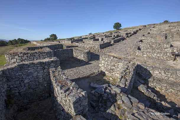 Yacimiento de San Cibrao de Las, donde se enclava el Parque Arqueológico de la Cultura Castreña.