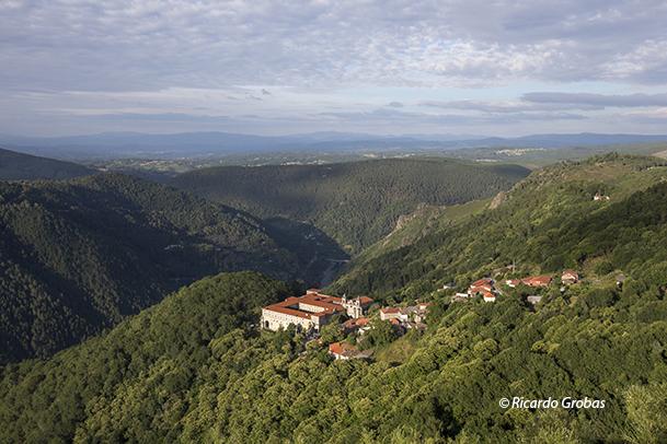Monasterio de Santo Estevo de Ribas de Sil.