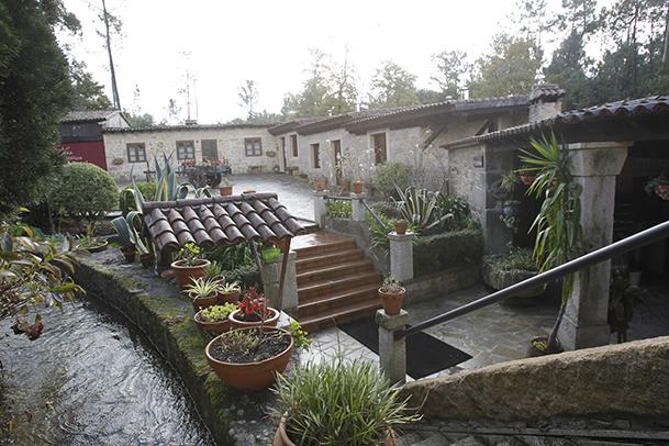 Aldea Rural Os Muiños, en Araño-Rianxo (A Coruña)