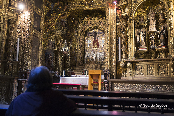 Capilla del Santo Cristo de Ourense, en la catedral de San Martín.
